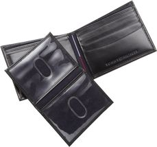 Tommy Hilfiger Men's Premium Leather Credit Card ID Wallet Passcase 31TL22X063 image 6
