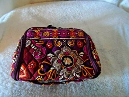 Vera Bradley Safari Sunset Mini Hanging Organizer Jewelry/ Make-up   - $26.00