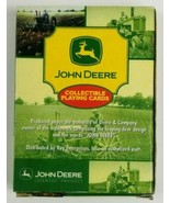 John Deere Playing Cards Jumping Deer Logo Cardback Collectible  - $6.79
