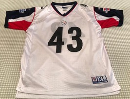 Pittsburgh Steelers Replica Jersey Super Bowl XL Size XL (18-20) # 43 Po... - €17,46 EUR