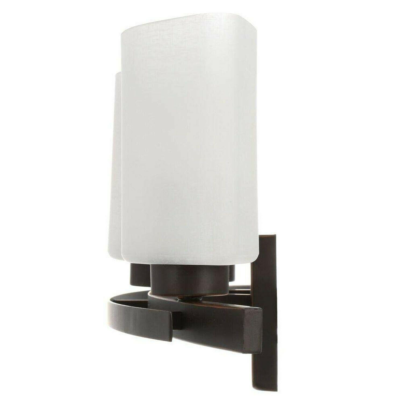 Hampton Bay DTH1313A-2/ORB Ettrick Bathroom Light Fixture | Missing screws