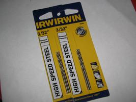 """IRWIN 3/32"""" Drill Bits (Qty 4) - $9.99"""