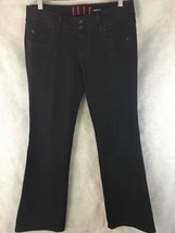 "Elle Bootcut Black Stretch Jeans Size 4R Inseam 32""  Low Rise  - $15.85"