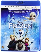 Disney Frozen (Blu-ray + DVD + Digital, 2014, 2-Disc Set)