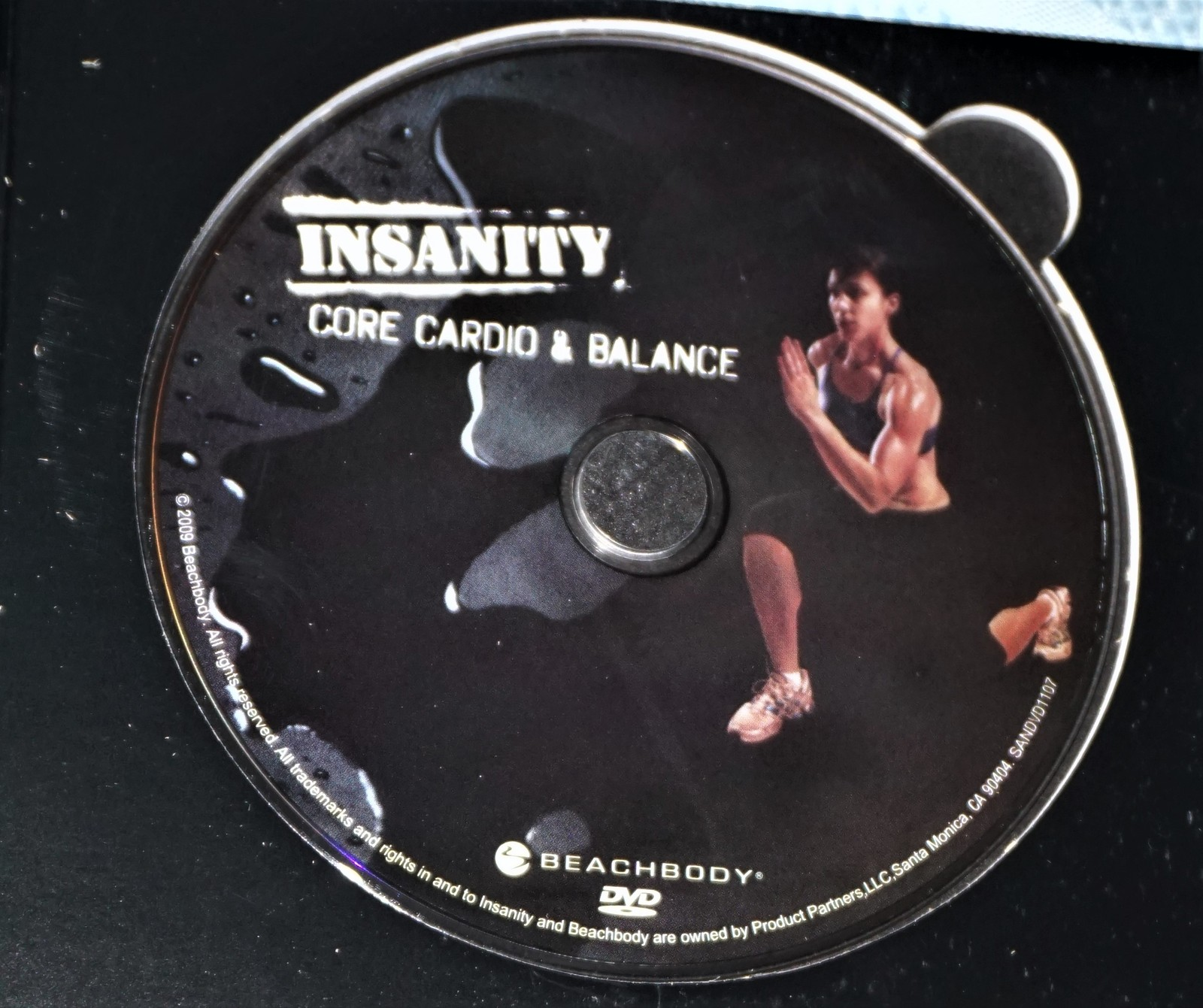 Beach Body Insanity Core Cardio & Balance Replacement DVD
