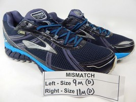MISMATCH Brooks ASR 12 GTX Gore-Tex Sz 9 M (D) Left & 11 M (D) Right Men's Shoes