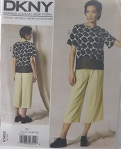 Vogue Pattern 1492 - Misses'  DKNY (Donna Karan New York) Top and Pants  - $13.29