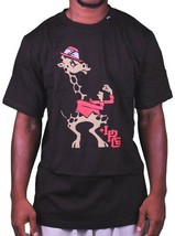 L-R-G LRG Lifted Jugar Like A Champion Boxeo Jirafa Blanco o Negro Camiseta Nwt