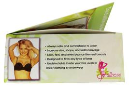 Fullness Women's Silicone Breast Enhancer Push Up Pads With Brown Nipple #1001B image 4