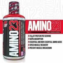 PRO SUPPS | AMINO 23 Liquid Amino | 23g Protein, Recovery | Vanilla, 32 ... - $27.67