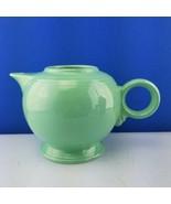 Fiesta teapot Green No Lid, would make a great vase - $23.66