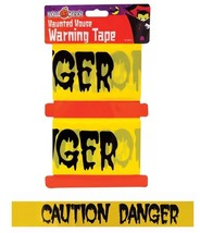 Halloween 2 x 6m - Party Warning Tape Decoration Trick Treat Haunted Hou... - $2.53