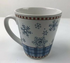 Debbie  Mumn By Sakura Blue Winter Snowflake Coffee Mug - $7.92