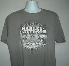 Mens Harley Davidson Twin Cities t Shirt 2X skulls eagle logo - $24.70