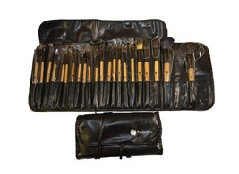 High End Beauty 22 Piece Horse Hair Makeup Brush Set w/Case - $19.35