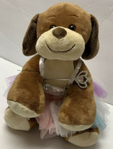 """Build A Bear Workshop Plush BAB 13"""" Brown Dog with Fairy Princess Outfit & Wand - $50.99"""