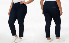 Style & Co Women's Plus Size Slim-Leg High-Rise Tummy Control Jeans, Pre... - $29.95
