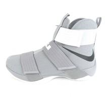 Nike LeBron Soldier X 10 TB Promo Wolf Grey/Black-White Sz 14.5 856489 0... - £54.20 GBP