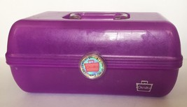 Caboodles Girl On The Go Purple Plastic Train C... - $14.84