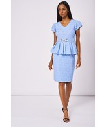 Blue Patterned Skirt And Top Set Sizes: 8, 10, 12, 14, 16, 18 Brand NEW - $25.72