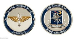 "ARMY FORT CAMPBELL NIGHT STALKERS 160TH AVIATION 1.75"" CHALLENGE COIN - $17.14"