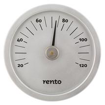 Rento Grey Aluminum Thermometer Celsius (5.9'' Diameter) - $43.00