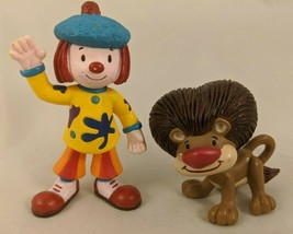 "Disney JoJo Circus Clown Goliath Lion Figure Lot 3"" - $6.45"