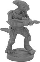 Reaper Miniatures Bloodcrest Sharpshooter #49005 Bones Black Unpainted Plastic - $4.36