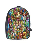 Scb1358 backpack school bag beautiful cartoon animation disney c thumbtall