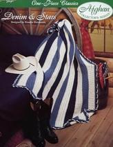 Crochet Pattern - Denim & Stars - The Needlecraft Shop - One-Piece Classics - $1.50