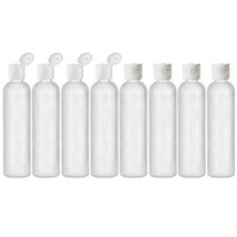 MoYo Natural Labs 8 oz Travel Bottles, Empty Travel Containers with Flip... - $30.46