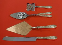 Rose by Kirk Sterling Silver Dessert Serving Set 4pc Custom Made - $299.00