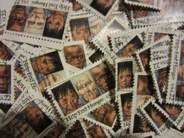 Old US postage stamp lots HELP END HUNGER 1985 CV $25.00 Scott 2164 - 10... - $4.99