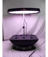 AeroGarden 7 Pod LED Indoor Hydroponic Garden Black 100612 Damaged See D... - $69.29