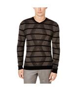Alfani Men's Cashmere Long Sleeves V-Neck Sweater Deep Black Size Large - $49.49