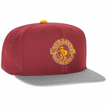Cleveland Cavaliers Hat Ball Cap~RED~Flat Bill Snapback~Adidas~NBA~Ships... - $18.18