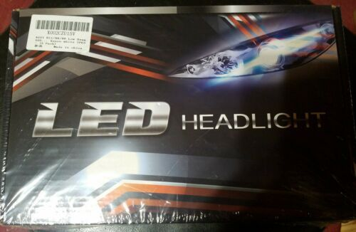AUSI H11/H8/H9 Low Beam 9005/HB3 High Beam LED Headlight Bulbs Package