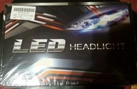 AUSI H11/H8/H9 Low Beam 9005/HB3 High Beam LED Headlight Bulbs Package image 1