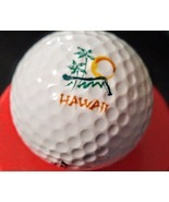 Hawaii Logo Golf Ball Travel Souvenir Golfer Swag Advertising Promotiona... - £6.08 GBP