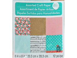 Michael's Melodies/Lace Assorted Craft Papers 8x8 Inches #257213