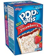 Kellogg's Pop-Tarts, Frosted Strawberry, 8 Pack, 14.7 oz Box (Pack of 8) - $58.66