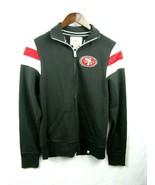 47 Brand NFL Woman San Francisco 49ers  Full Zip Hood Black M Sweatshirt - $49.45