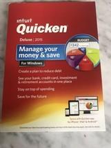 Intuit Quicken Deluxe 2015 For Windows - $74.20