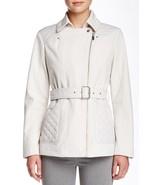 $195 Kenneth Cole Women Belted Coat: Size Medium - $37.05