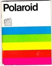 Polaroid Camera Instruction Manual ONLY Sonar Multiple Languages Vintage - $3.46