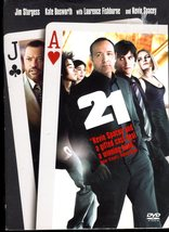 21-  (DVD) casino Kevin Spacey black jack movie - $7.95