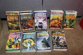 lot of 9 STARFIST Novels Sci Fi Lot Books Sherman Cragg Softcover books - $22.95