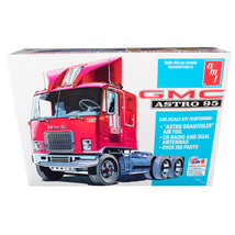 Skill 3 Model Kit GMC Astro 95 Truck Tractor 1/25 Scale Model by AMT AMT... - $51.99