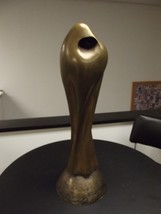 HUGE Original Brother Jerome Cox Bronze Abstract Sculpture RARE 1972 SIGNED - $4,455.00