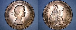 1967 Great Britain 1 Penny World Coin - UK - England - $4.99
